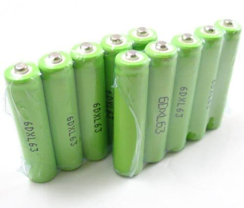 Bilde av 10-pk Aaa Batterier 600 Mah