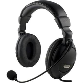Headset med Mikrofon Kjøp på 24hshop.no