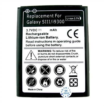 Batteri til Samsung Galaxy SIII