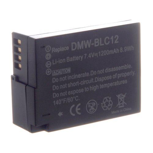Batteri Panasonic DMW-BLC12 til FZ200 mm