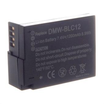 Kamerabatteri til Panasonic DMC-G6 DMW-BLC12