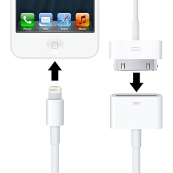 Adapter iPhone 4 til iPhone 5