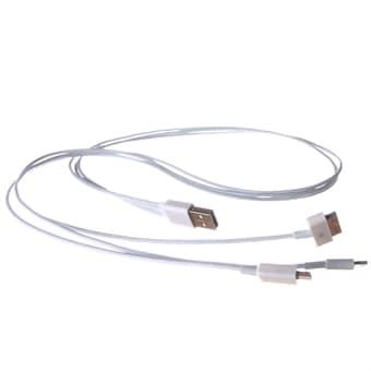 USB Lader 3i1 - iPhone 6/5/4 & Micro-USB