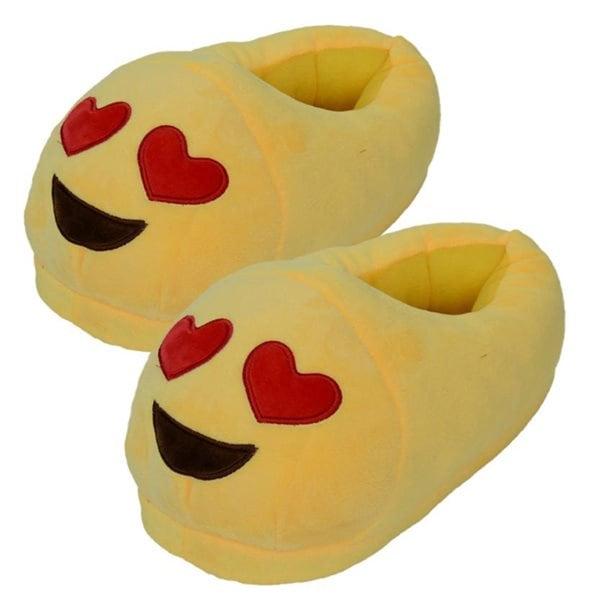 Emoji tøfler voksne
