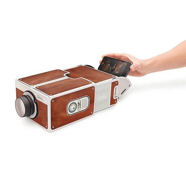 Mobiltelefon Projektor - Streame storbilds-TV