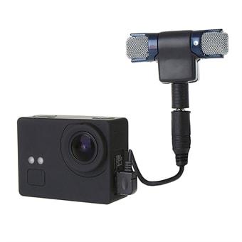 Ekstern Stereo Mikrofon GoPro HERO Camera Kjøp på 24hshop.no