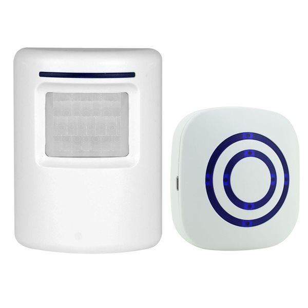 Trådløs ringeklokke / dørklokke / alarmklokke