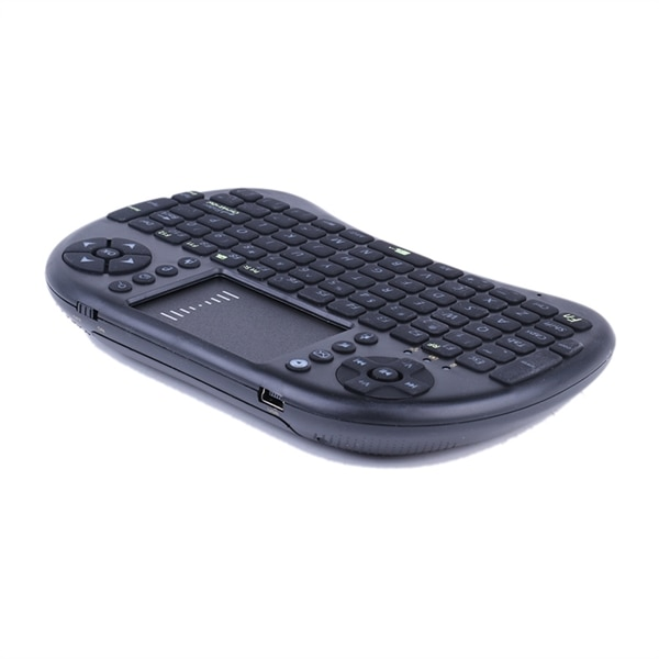 24hshop Trådløst mini tangentbord Airmouse Touchpad Android