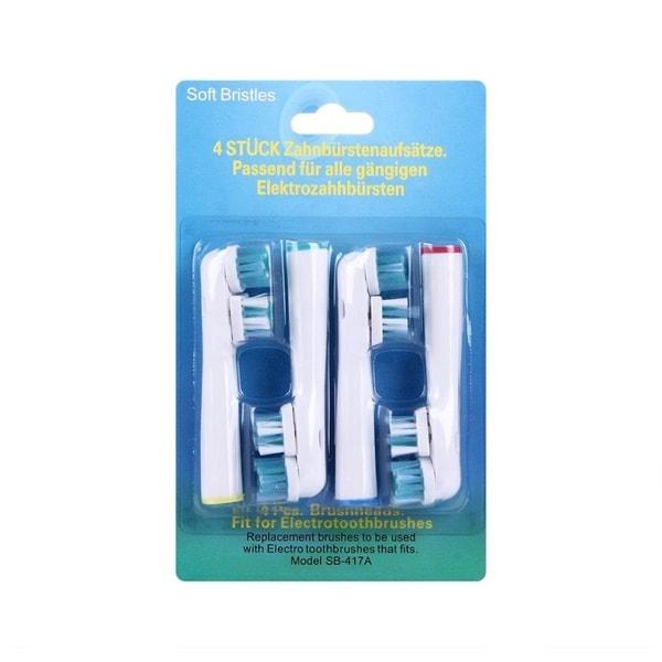 Oral-B kompatible tannbørstehoder - 4Pack