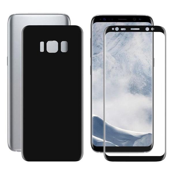 Skärmskydd Fram + bak Samsung Galaxy S8 - Fullskärmsskydd täcker kanterna