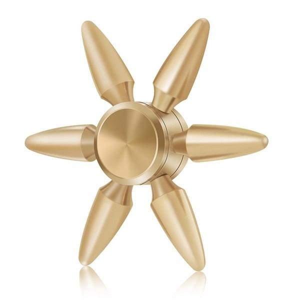 Fidget Spinner blomma R188 metall - Bullet design