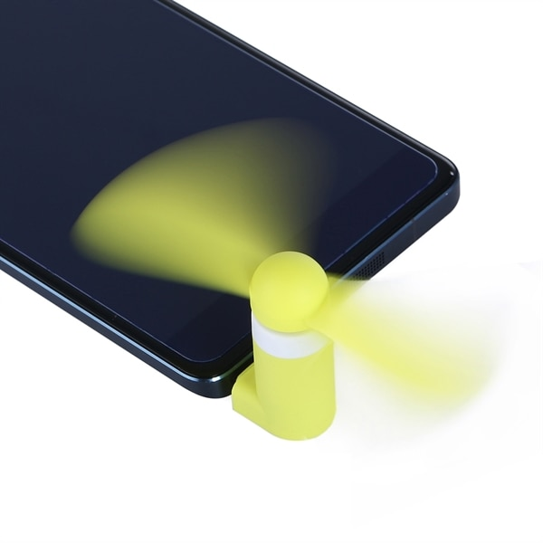 Vifte til mobiltelefon med Micro-USB kontakt