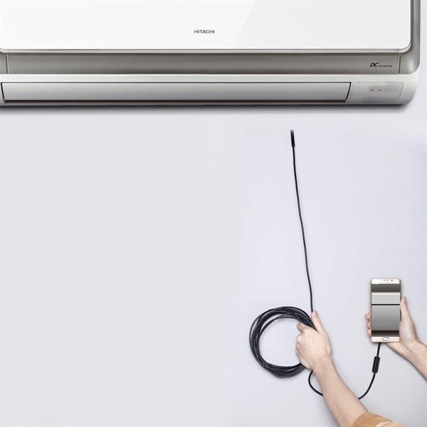 Inspeksjonskamera USB Type C PC Android 10 meter 7mm