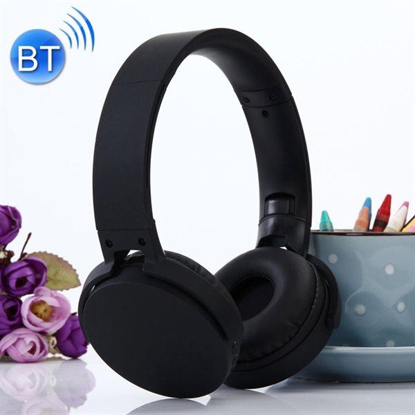 Fulldekkende trådløse Bluetooth musikk hodetelefoner
