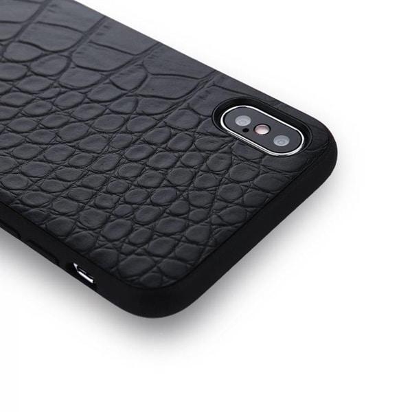 Skal iPhone X - Krokodildesign