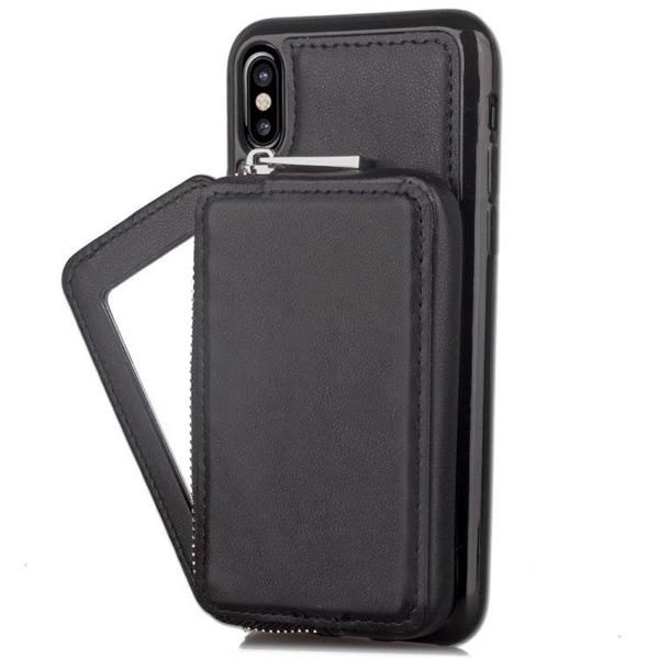 Plånbok med dragkedja iPhone X