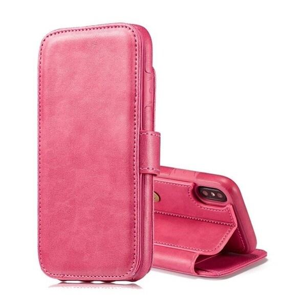 Plånbok med avtagbart skal iPhone X