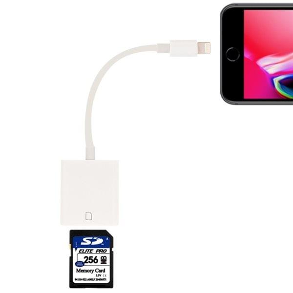 iPhone / iPad kortleser SD minnekort