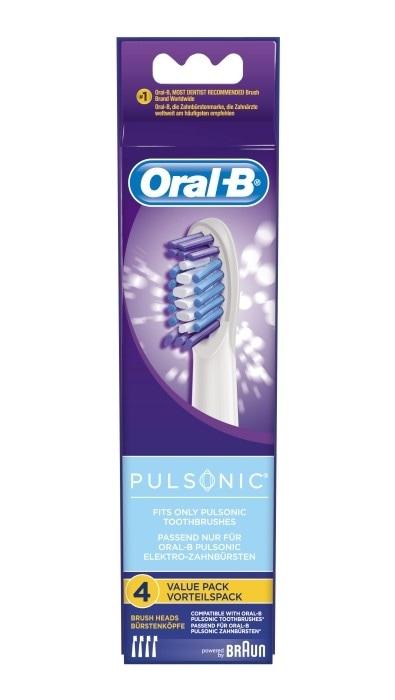 Oral-B Pulsonic børstehode 4 stk