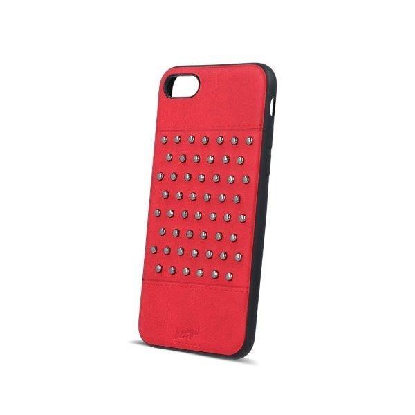 Beeyo Mobildeksel med nagler iPhone 6 / iPhone 6s red