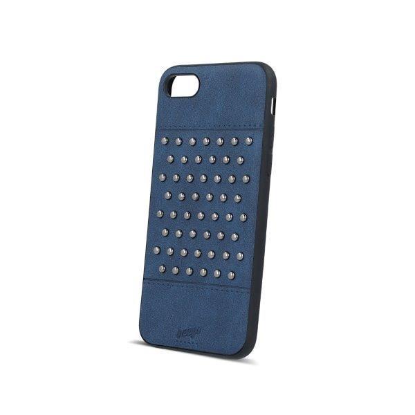 Beeyo Mobildeksel med nagler iPhone 6 / iPhone 6s marineblå