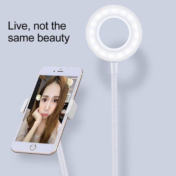 Mikrofonstativ med selfielampe og mobilholder Kjøp på