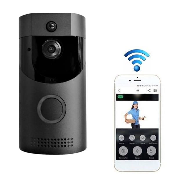 WiFi Dørklokke med kamera 720P - Mobilapp