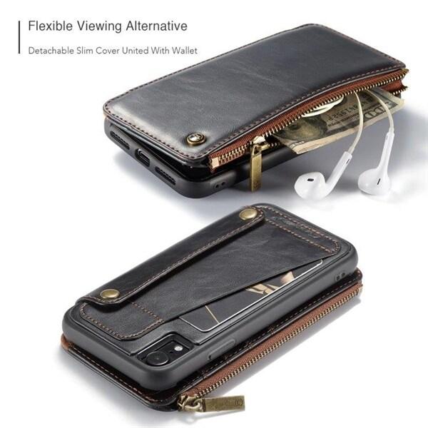 CaseMe 011 Lommebokdeksel iPhone XR Svart Kjøp på 24hshop.no