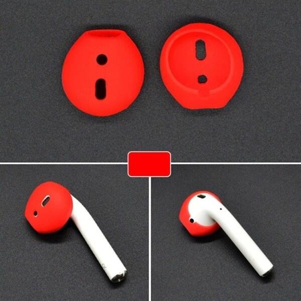 Silikon Earpads til Apple AirPods Rød
