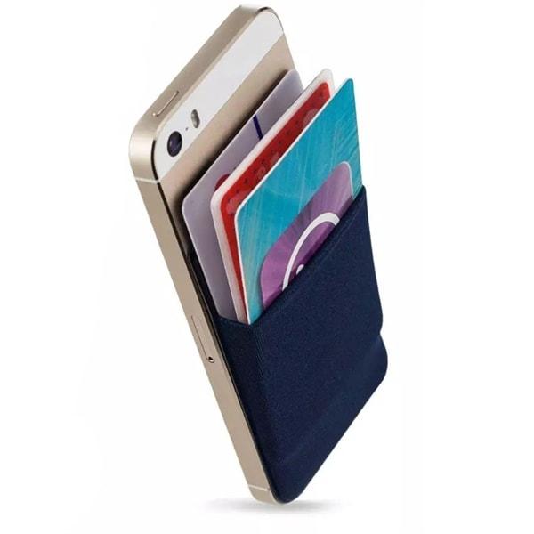 Självhäftande töjbar korthållare för Mobiltelefon