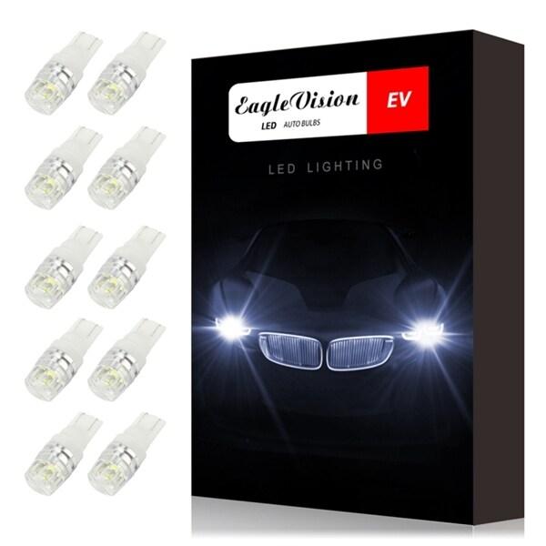 Bilde av 10-pack Lyspærer Led T10 2watt 100lm Canbus Decoder - Parkering / Posisjonslys