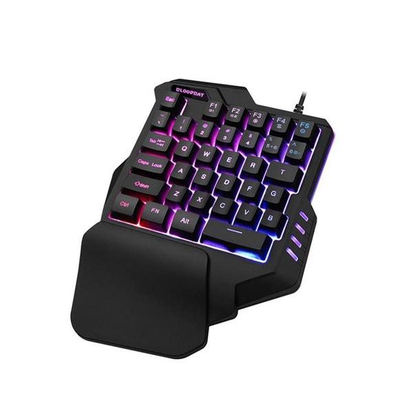 Gaming Tastatur med RGB belysning Kjøp på 24hshop.no