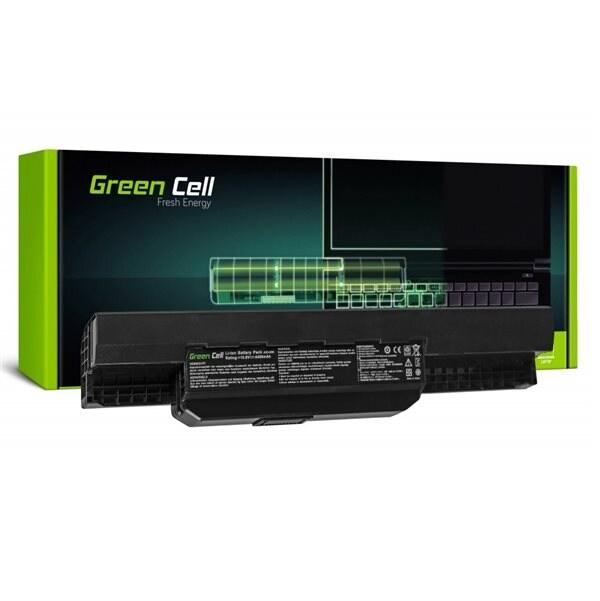 24hshop Green Cell laptop batteri til Asus A31-K53 X53S X53T K53E