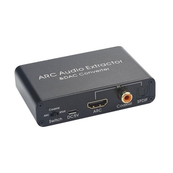 24hshop HDMI Audio Return Channel & D/A-konverterer