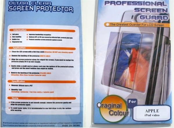Displaybeskyttelse til Mobiltelefon
