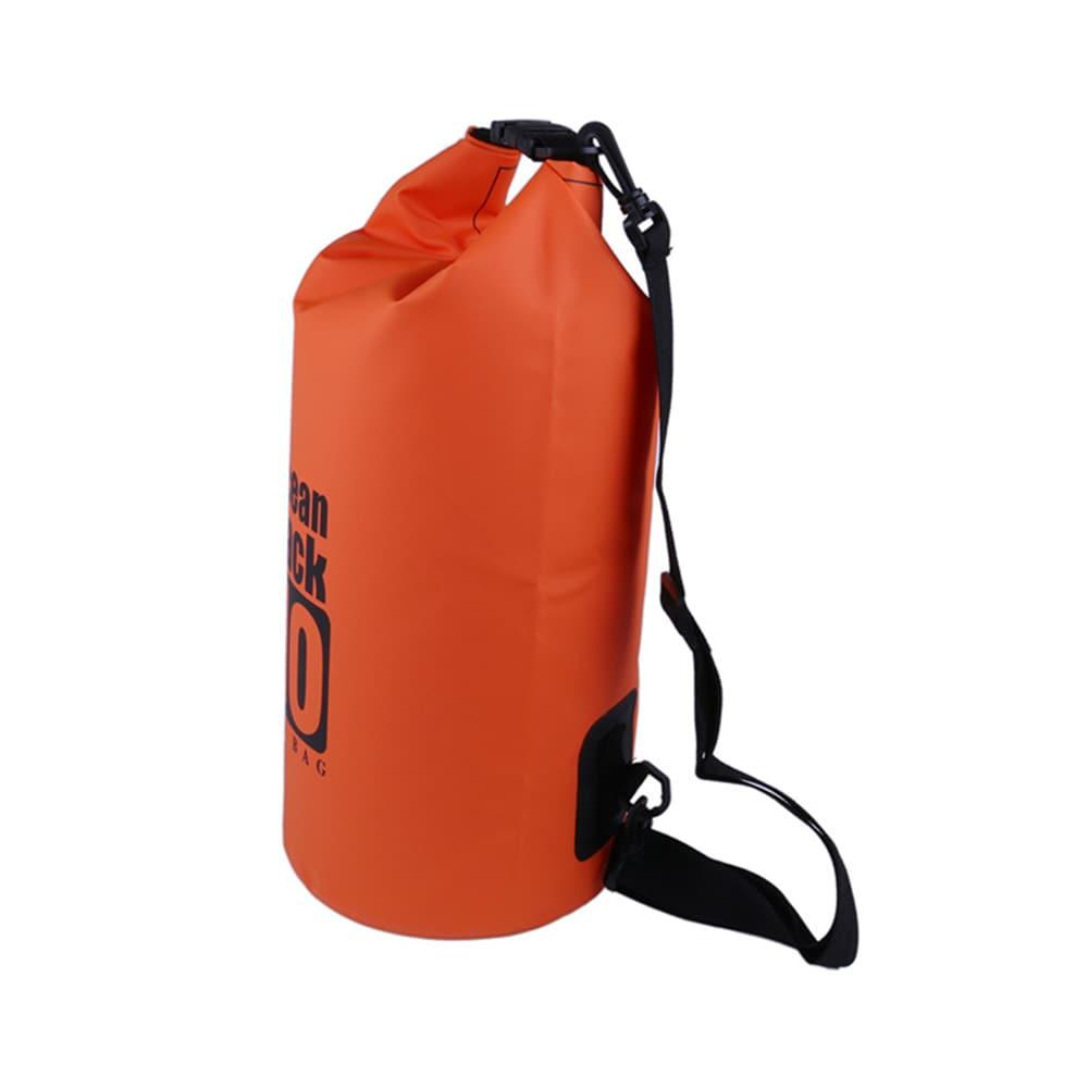 Vanntett Bag Dry Bag 10 Liter Oransje Tørrsekk